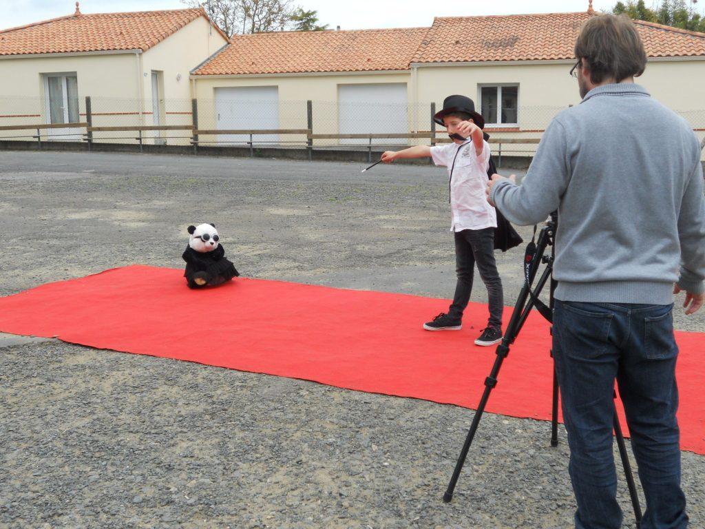 Tournage Film muet